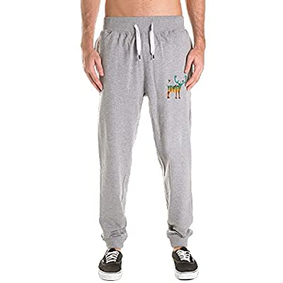 DONG Exposure Forest Of Caribou Men's Active Basic Jogger Pants Size (M-3X)