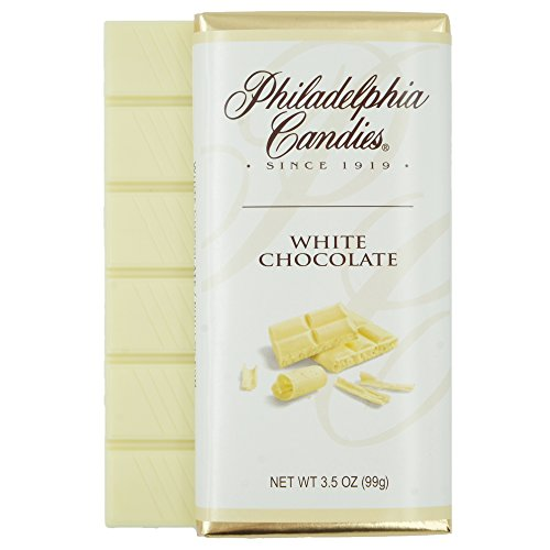 Philadelphia Candies White Chocolate Bar, 3.5-Ounce Package