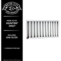 Hunter 30963 Compatible Air Purifier Filter, Motor City Home Products Brand Replacement (1)
