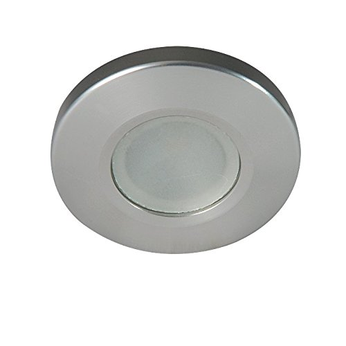 Lumitec 112523, Orbit Flush Mount Down Light, LED, White Housing, Non-Dimming White, Non (Marine Flush Mount)