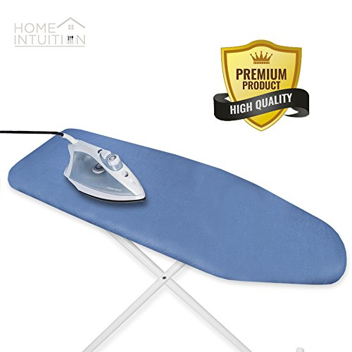 Home Intuition Scorch Resistant Silicone Coated Ironing Board Padded Cover 15