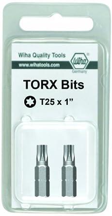 Wiha 71642 TorxPlus® Insert Bit 2 pieces IP25 x 25mm