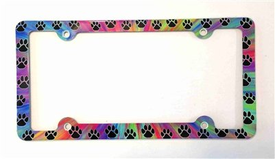 Cat License Plate Frames Kritters In The Mailbox Cat