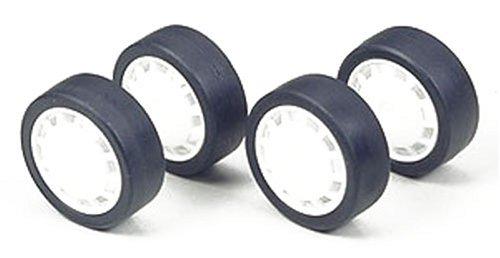 ラジ四駆グレードアップパーツシリーズNo.295 ロープロファイルタイヤ&ホイールセット(ディッシュタイプ)[15295]