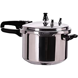 Giantex 6-Quart Aluminum Pressure Cooker Fast Cooker Canner Pot Kitchen