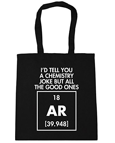 tell I'd AR ones you all Tote good but litres HippoWarehouse 42cm Beach Shopping chemistry a Bag the joke Gym Black 10 x38cm p5qEPvdxv