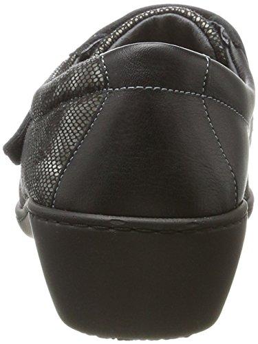 Adulte Noir Podowell Mixte Sylvanie Podowell Sylvanie avec Chaussures Velcro OwaSA0xq