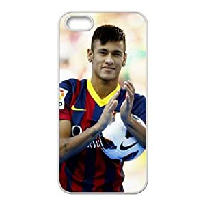 Neymar iPhone 5 5s Cell Phone Case White Phone cover U8467167