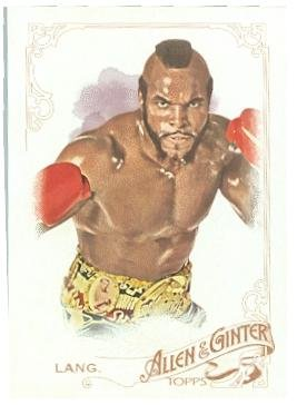 Clubber Lang trading card (Mr T Rocky III) 2015 Topps Allen Ginters #102]()