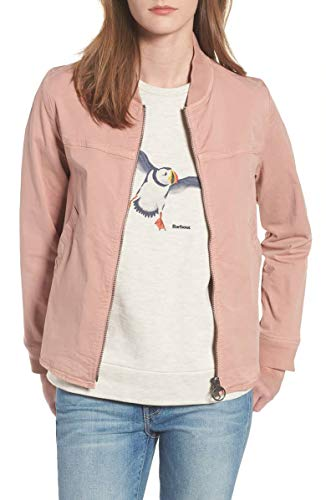 Barbour Women's Mabel Overshirt Jacket Blush Pink 10