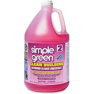 Simple Green Clean Building Bathroom Cleaner Concentrate - Liquid Solution - 128 fl oz (4 Quart) - Pink