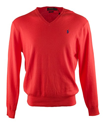 Polo Ralph Lauren Men's Big and Tall V-Neck Sweater-SB-1XB