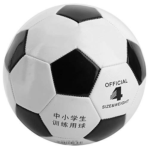 aolongwl Balón de fútbol Tamaño 4 Fútbol Negro Blanco Fútbol PVC Balón De Fútbol Goal Team Match Training Balls Adult…