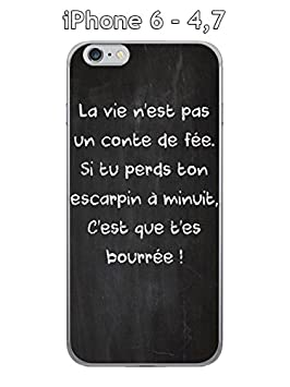 coque iphone 6 citation francais