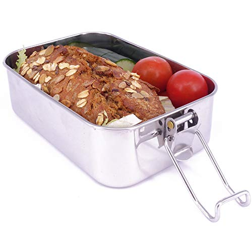 Kooleco Leakproof Stainless Steel Lunch Box Small To-Go