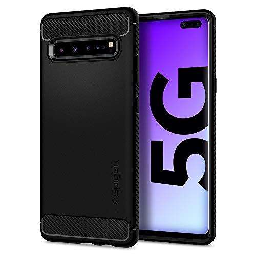 Spigen Rugged Armor Designed for Samsung Galaxy S10 5G Case (2019) - Matte Black (Sexy Galaxy S3 Case)