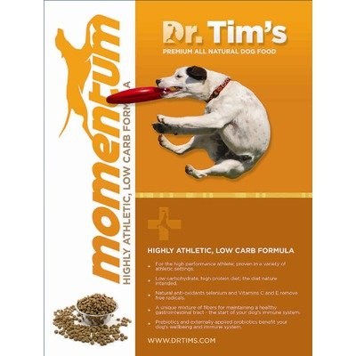 Dr tim 39 s premium all natural pet foods momentum dog food for All natural pet cuisine