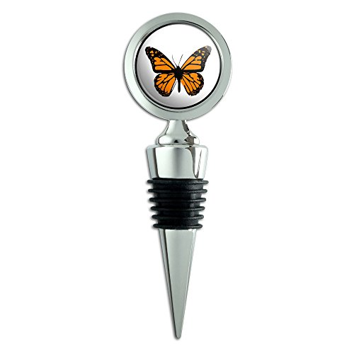 (Monarch Butterfly Wine Bottle Stopper)