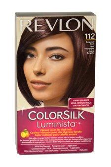 Colorsilk Luminista #112 Burgundy Black 1 Application Hair Color Women by Revlon