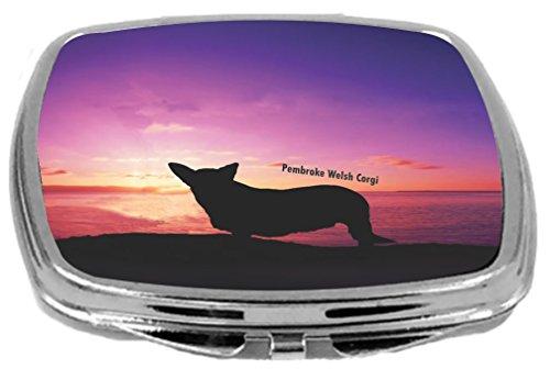 Rikki Knight Pembroke Welsh Corgi Dog at Sunset Design Co...
