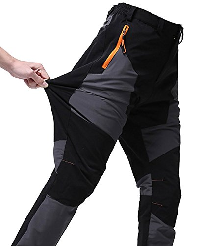 fanhang Outdoor Quick Dry Lightweight Waterproof Hiking Mountaineering Skiing Fishing Pants for Men and Women