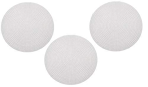 (24-Pack Round Plastic Canvas for Needlepoint Craft | Shape-Circle (Size: 4.3
