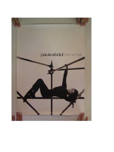 Paula Abdul Poster Head Over Heels