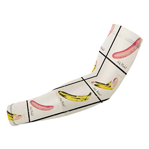 SuraphonSuphunthuchatz Unisex Mens Women Youth & Adult The Velvet Underground Nico Fashion Music Band UV Sun Protection Arm Supports Arm Sleeves Arm Guard for Football Gift