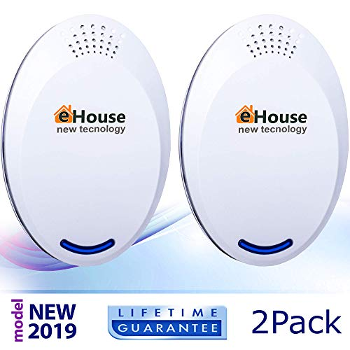 Ultrasonic Pest Repeller Electronic Repellent Best Plug in -