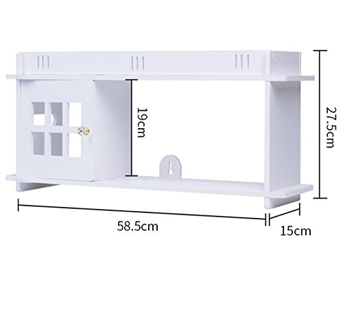 SALE – SCIENCES floating bathroom/book shelf helps organizing your space. Colour white