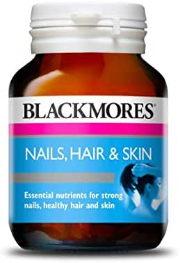 Blackmores Nails, Hair & Skin - 60 Tablets - Thick Nails, Strong Hair, Healthy Skin, Reduce Splitting and Chipping, Strengthen Brittle Nails