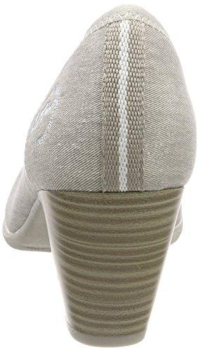 S oliver Grislt 22405Escarpins Grey Femme OPkwXiuTZ
