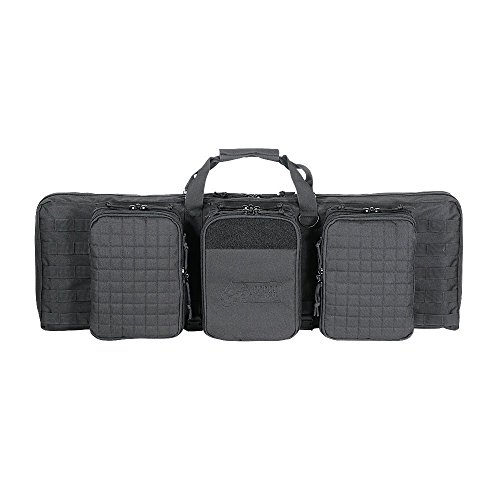 (VooDoo Tactical 15-9648001000 Deluxe Padded Weapons Case, Black, 42