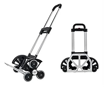 folding hand truck the all terrain stair climbing utility cart aluminum hand truck 155 lb. Black Bedroom Furniture Sets. Home Design Ideas