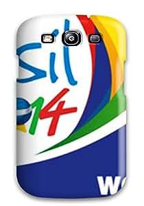 BYAFCMH4787Vrhar ZippyDoritEduard Brazil 2014 World Cup Bbanner Feeling Galaxy S3 On Your Style Birthday Gift Cover Case