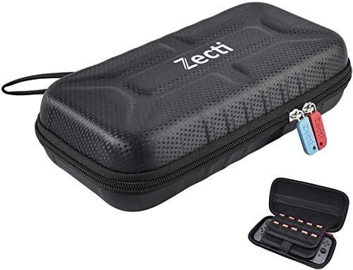 Estuche portátil Zecti Switch compatible con Nintendo Switch - 20 ...