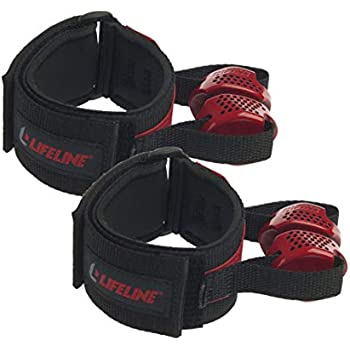 Multiple Levels Available Lifeline Max Flex Resistance Kit with Interchangeable Band for More Workout Options Includes Comfort Grip Handles and 4ft Exercise Tube 20lb, 30lb, 40lb, 50lb, 70lb