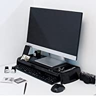 LED LCD Monitor Stand Cradle Desk Organizer Office Various Storages Computer New