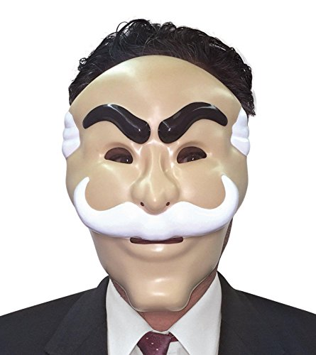 Mr. Robot Mask, Officially Licensed by NBC (Officially Licensed Halloween Costumes)