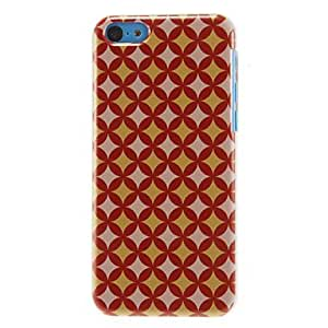 GOG Golden Rhombus Pattern Hard Case for iPhone 5C