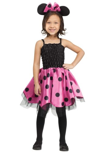 [Little Girls' Missy Mouse Costume Small (3T - 4T)] (Little Girl Minnie Mouse Costumes)