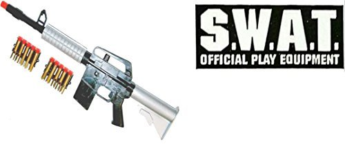 Dart Gun For Kids SWAT Blow Toy Machine Gun Rifle For Pretend (Target Kids Costume)