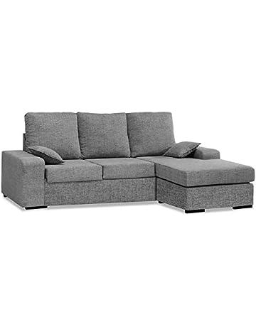 7ff871b0add Muebles Baratos Sofa con Chaise Longue