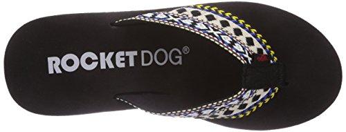 de Diver Webbing Rocket Sandalias negro sintético Webbing Black para mujer Dog Multi Multi wAxX6Zq
