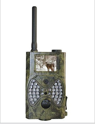 FDL Infrared Trail Camera with Night Vision No Glow Support MMS & Email(only Support NON SSL Email Address) 36 Ir Leds Invisible At Night