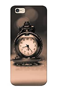 Clock Book Watch Bokeh Text Motivation Case Compatible With Iphone 6 Plus/ Hot Protection Case