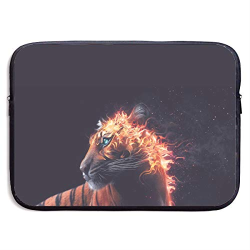 - Fire Tiger Roar Flame Animals Flaming Laptop Sleeve Case Bag Cover for Apple MacBook/Asus/Acer/Samsung/DELL/HP/Lenovo/Sony/RCA Computer 13 Inch