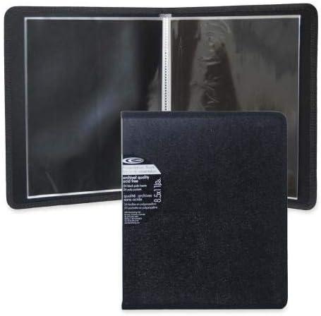 VLB Marketing VLB97840 Presentation Book 8-1//2 x 11 Art /& Photo Archival Black