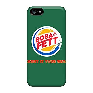 High Quality Hard Phone Cases For Iphone 5/5s (BLY16585dRCJ) Unique Design Nice Boba Fett Skin
