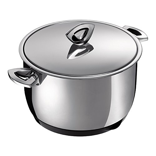 Kuhn Rikon Durotherm Swiss-Made Cookware, Stockpot with Lid, 9-Inch - 5QT
